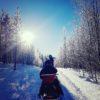 Gewoon doen! Huur zelf een sneeuwscooter (Levi, Lapland)